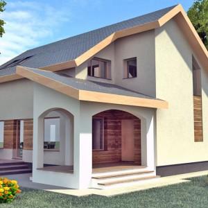 Proiect casa de 167 mp
