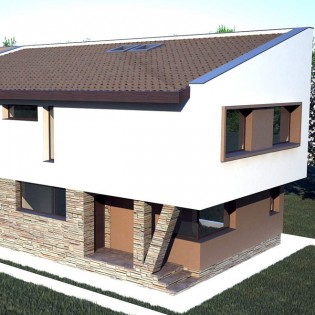 Proiect casa de 229 mp