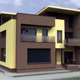 Proiect casa de 257 mp