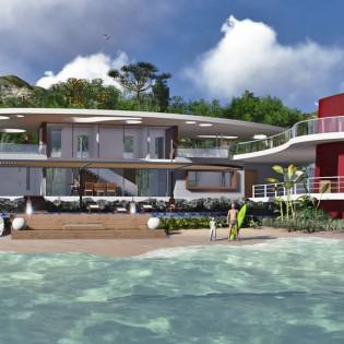 Proiect casa de 335 mp