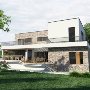 Proiect casa de 381 mp