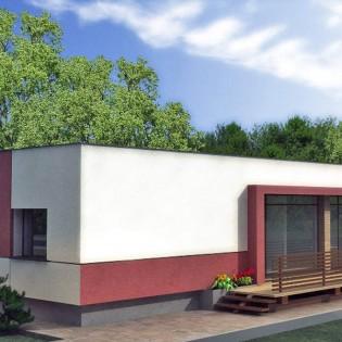 Proiect casa de 79 mp