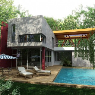 Proiect casa de 280 mp